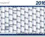 Hold styr på planerne med en kalender på kontoret (foto: kontorting.dk)